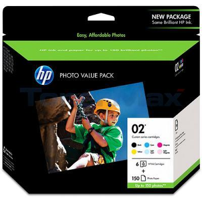 HP NO 02 PHOTO VALUE PACK